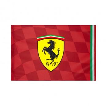 Ferrari vlajka red big 140 x 100 cm F1 Team 2019