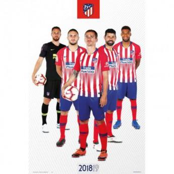 Atletico Madrid plagát Players 65