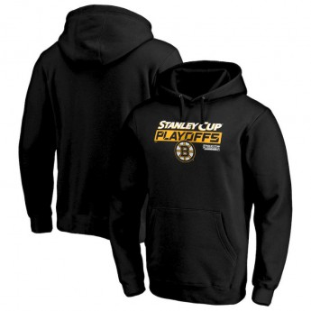 Boston Bruins pánska mikina s kapucňou 2019 Stanley Cup Playoffs Bound Body Checking Pullover Hoodie