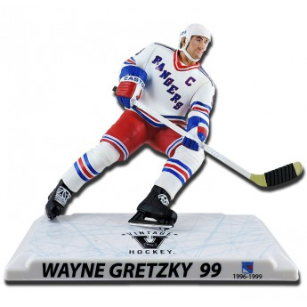 New York Rangers figúrka #99 Wayne Gretzky Imports Dragon Player Replica