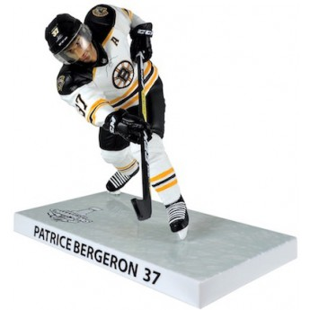 Boston Bruins figúrka #37 Patrice Bergeron 2011 Stanley Cup Champions Imports Dragon Player Replica