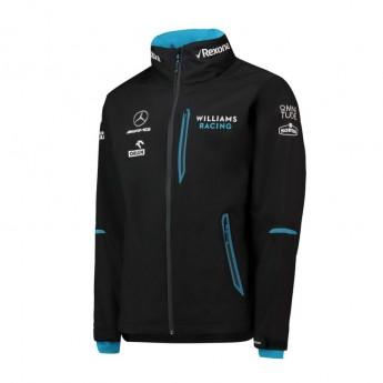Williams pánska bunda s kapucňou Team Rain black F1 Team 2019