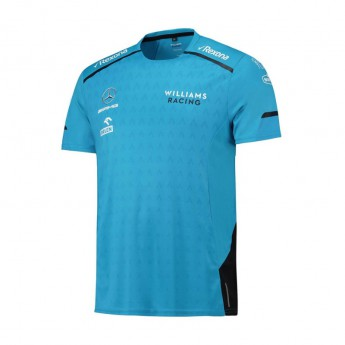 Williams pánske tričko Team blue F1 Team 2019