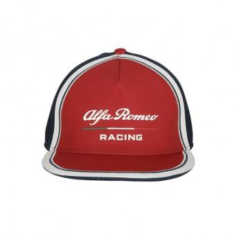 Alfa Romeo Racing čiapka flat šiltovka Team red F1 Team 2019