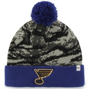 St. Louis Blues zimná čiapka 47 Brand Tigershade camo