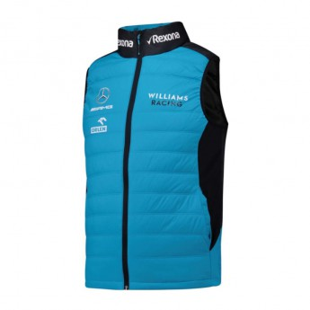 Williams pánska vesta Team blue F1 Team 2019