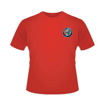 Alfa Romeo Racing pánske tričko Logo Red F1 Team 2019
