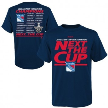 New York Rangers detské tričko blue 2014 Eastern Conference Champions Next the Cup Roster